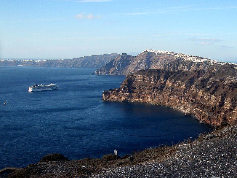 Santorini-caldera