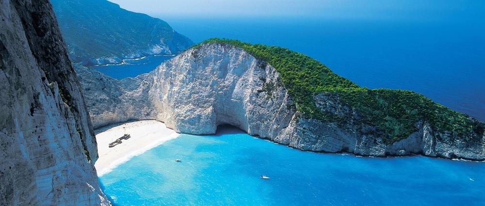 Zante-beach best greek islands for relaxing