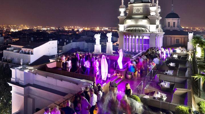 Me Madrid Reina Victoria Rooftop Bar