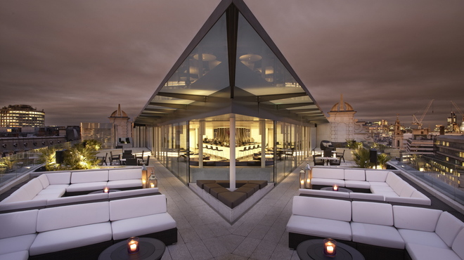Oblix Rooftop Bar on the Shard