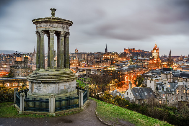 Edinburgh-Romantic destination