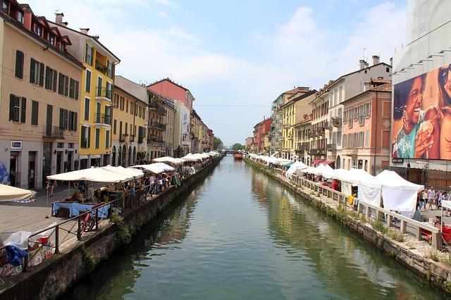 Navigli of Milan