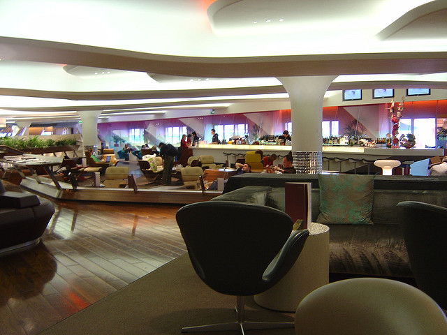 Top class Clubhouse, London Heathrow - Virgin Atlantic